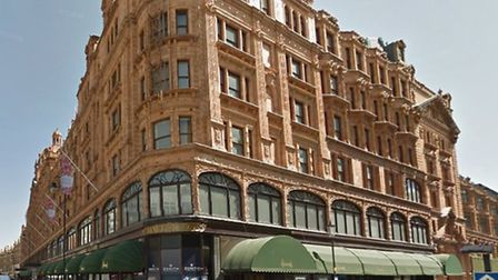 Daley is also accused of stealing a jumper from Harrods (Pic: Google Streetview)