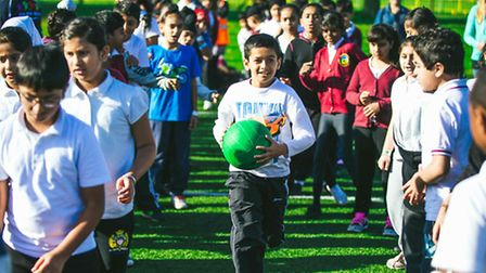 More than 300 pupils enjoyed a Games Legacy Day at Vale Farm Sport's Centre in Watford Road