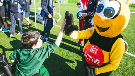 Children of all abilities enjoyed a Games Legacy Day at Vale Farm Sport's Centre in Watford Road