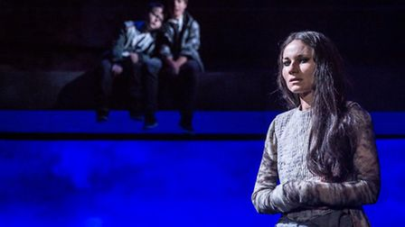 Kate Fleetwood in Medea at Almeida Theatre. Picture: Marc Brenner