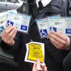 Badges like these have been seized