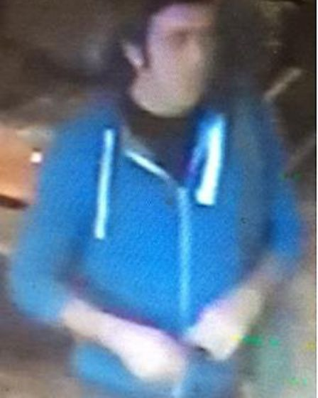 CCTV image showing the last sighting of Mr Magnanini at the Shakespeare Public House by Victoria Rai
