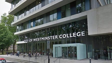 City of Westminster College is in Paddington (Pic credit: Google)