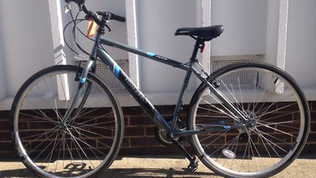 Police are trying to find the rightful owner of this bicycle