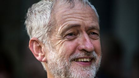 A smiling Jeremy Corbyn (Photo by Rob Stothard/Getty Images)
