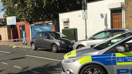Police were called to Conley Road on Saturday morning following reports of remains found in a bag (P