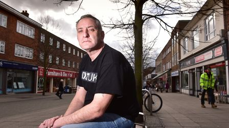 Lowestoft's Ivan Humble features in Amazon Prime's Britain's Ultra Nationalists. PHOTO: Nick Butcher