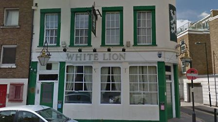 The White Lion, on Central Street. Picture: Google Street View