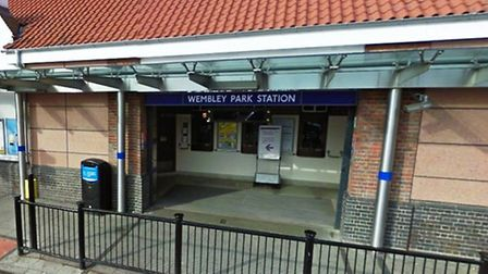 Constanin Jora exposed himself at Wembley Park Station (Pic credit: Google)