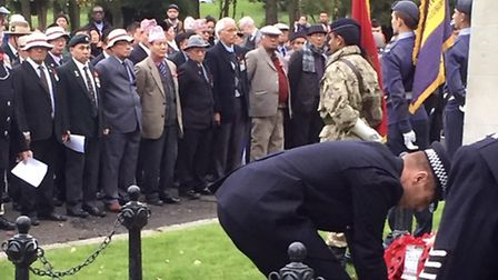 The special Remembrance Sunday service took place in Wembley (Pic credit: Brent Council)
