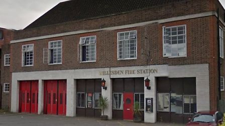 Willesden Fire Station in Pound Lane (Pic: Google)