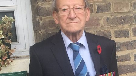 Doug Radcliffe MBE, 91, has spent the past 30 years supporting fellow RAF veterans in the Bomber Com