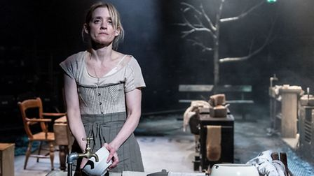 Anne-Marie Duff in Husbands and Sons. Picture: Manuel Harlan