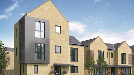 Developer Fairview homes have released images of the new Claremont village development