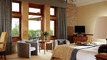 The Devil's Dyke suite. Each bedroom in the hotel is named after a nearby attraction