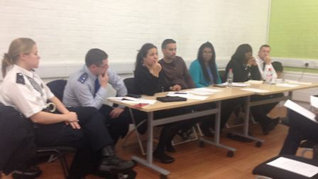 Police, councillors, housing and community representives held an emergency meeting to listen to the