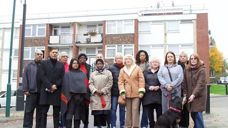Leaseholders on the CAM estate in Neasden say they're paying over the odds for work done to their bl