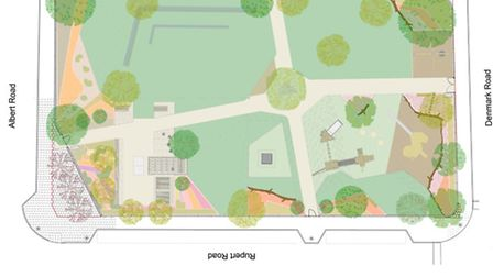 Developers Ground Control have released the first plans for the Wood House Urban park as work got un