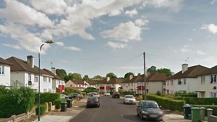 Officers were called to Belvedere Way at 12:30am to reports of a double-stabbing (Pic: Google Street