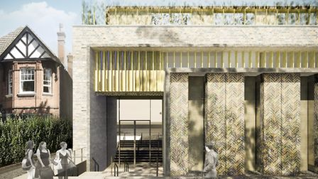 How the Synagogue in Brondesbury Park will look when completed