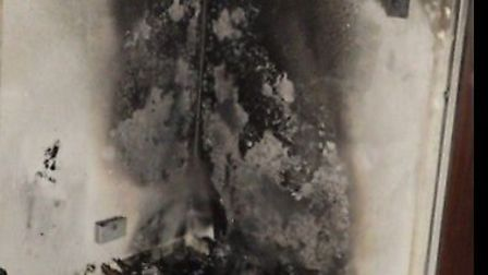 London Fire Brigade has warned of the dangers of leaving candles unattended after a fire broke out i
