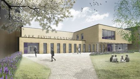 Ark Elvin Academy will boast a new tree lined entrance on Wembley High Road
