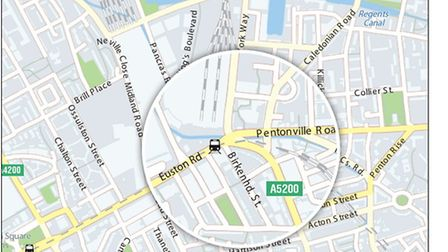Euston Road links Pentonville Road at its east side, with possible consequences for Islington