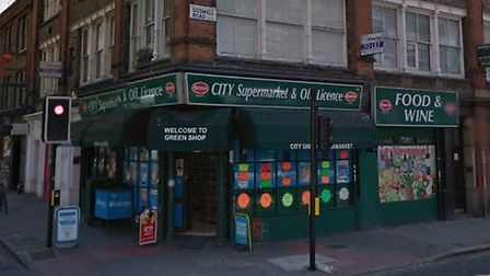 A shopkeeper at City Supermarket in Finsbury was convicted for selling a knife to a teenager that wa
