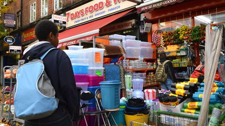 Jacob visits a home-ware shop in Stroud Green Road