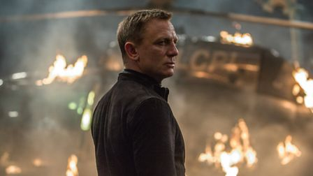 Daniel Craig is James Bond in Spectre. Picture: Jonathan Olley