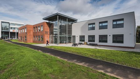 An external view of the new £11.7m energy skills centre, which is located adjacent to Lowestoft Sixt