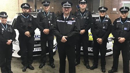 The Operation Sentinal team based at Lowestoft police station are targetting criminals using the ANP