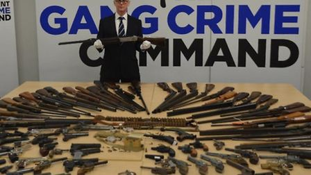 Brent's gun surrender is being co-ordinated in association with the Trident gang crime operation