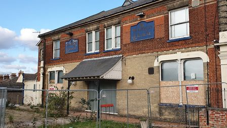 The Marquis of Lorne, where sixteen squatters were evicted earlier this month. Photo: Matthew Nixon