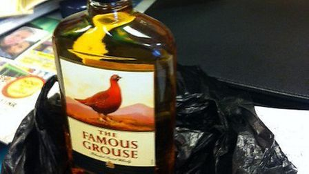 This bottle of whiskey was sold to a boy of just 11 (pic: Twitter@Brent_Council)
