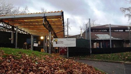 Treetops Nursery in Doyle Gardens closed sudden today (pic: Nathalie Raffray)