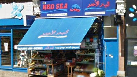 The Red Sea is in Edgware Road (pic: Google)