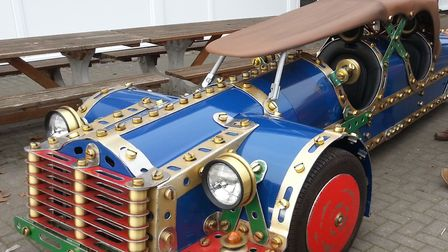 The Lowestoft Model Engineering & Model Making Exhibition returns this weekend. A life-size replica
