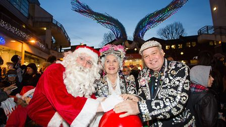 Islington is lit up at Angel Central's festive extravaganza last weekend