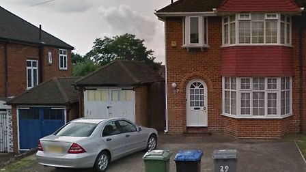 The property in Alington Crescent where Anwar Mihsen lived (pic: Google)