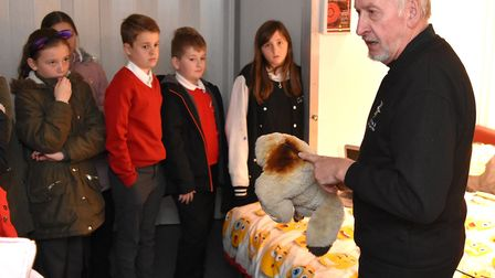 Fire safety at the Crucial Crew event in Lowestoft. Pictures; Mick Howes