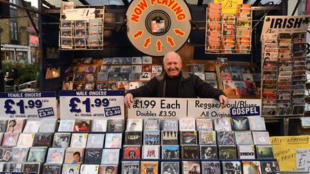 Chapel Market will be a much quieter place once Leslie retires. He is well known for blaring out his
