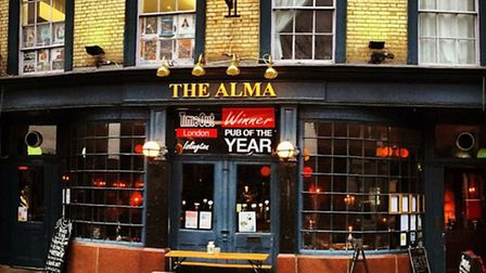 The Alman was voted as Islington's best pub for 2015