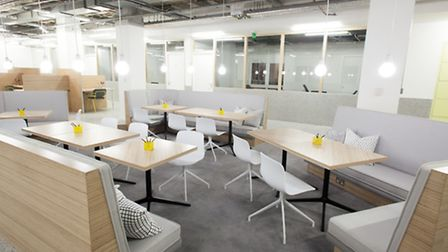 Free co-working space in Angel Square is on offer to winning entrants
