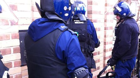 Police will be carrying out targeted raids on firearms suspects this week as part of Trident gang co
