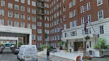 Police are hunting three teenagers who raped a woman in her 50s in Park West Place off Edgware Road