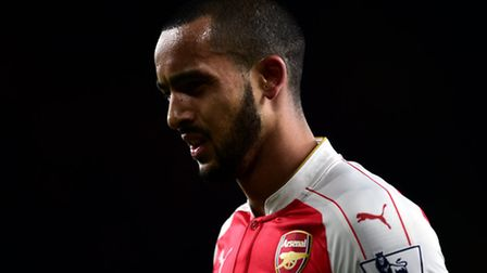Arsenal's Theo Walcott during the Barclays Premier League match against Sunderland, Picture: PA/Adam