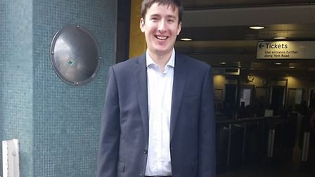 David Wood, 22, died after being crushed by a double decker bus in Clerkenwell on August 20