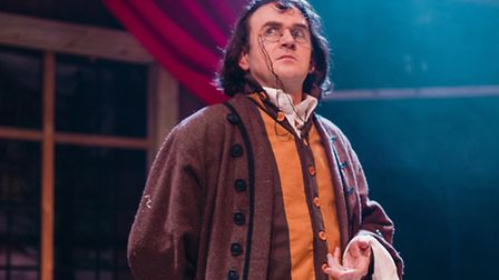 Andrew Shepherd in The Knight From Nowhere. Picture: Katie Cotterell