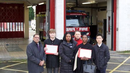 London Assembly Member Navin Shah was joined by Dawn Butler MP and Labour councillors to launch the